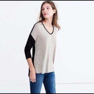 Madewell Anthem Long-sleeve V-neck Tee XS